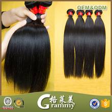 Wholesale high quality grade 7a 100% virgin brazilian human hair weave full fix hair