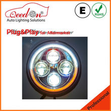 Qeedon ECE modified headlights for land for rover defender original design led headlight
