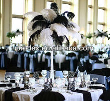 Wedding accessory party favor Natural Ostrich feather