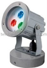 24VDC stainless steel led garden spot light Waterproof IP66 Single color and RGB