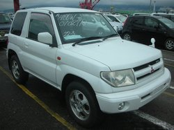 2000 Mitsubishi Pajero iO PEARL PACKAGE H66W Used Car From Japan (108994)