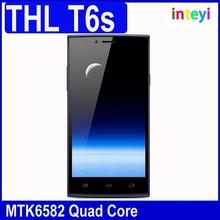 "Original ThL T6S Smartphone Quad Core MTK6582 Android 4.4 5.0"" JDI IPS Screen 1GB 8GB GPS 3G"