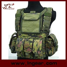 Olive Drab Water Bag Vest Molle Canteen Hydration Combat Airsoft Vest