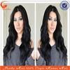 16inch 1b# off black 100% brazilian hair, cheap brazilian human hair full lace wig