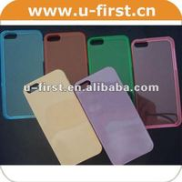 Hard protective cell phone case for iphone 5 with PC material