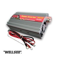 500W dc converters 12v 24v to 220v ac WELLSEE car inverter 1KW 2KW in stock CE