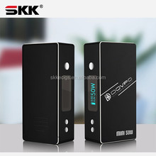 Voltage adjustable vv/vw e cig box mod Dovpo Mini 50W ecig 50W box mod new version Dovpo TC-50 with Temperature Control