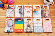 In Stock New Products Colored Drawing TPU Case for Samsung Galaxy S6 G9200