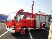 Isuzu qingling 4*2 del tanque de agua camión de bomberos para la venta