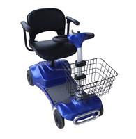 VITAFOM- 4 Wheel Electric Power Scooter For Elder People, Blue
