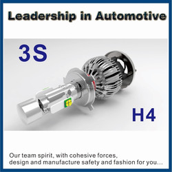 2015 Hot sale! Automobile tuning car h4 led headlight bulbs conversion kit