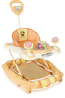LZW inflatable bouncer walker a wheel to baby :model 137-8FC