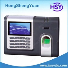 X628 TFT screen TCP/IP biometric zk software finger print time attendance with keypad