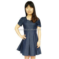 new korea style cheap price good quality cotton dress