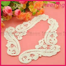2015 Newest Fashion new designs bridal cotton lace collar WLS-539