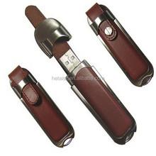 Leather USB flash drive, usb thumb drive gift
