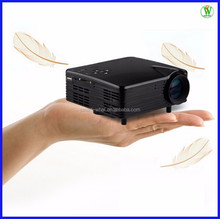 Portable Projector For Teaching Home Theater 400:1 Ratio 1920*1080 Max Resolution 80 Lumins 12.7cm Mini Projector
