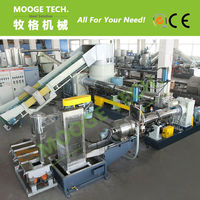 Waste PE Recycle Plastic Granules Making Machine Price