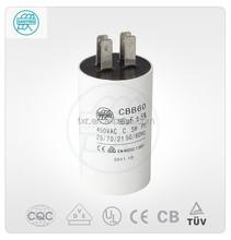 100% ac/Motor durchgangsbohrung cbb60-a05 22uf kondensator 350v