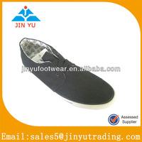 Popular classical style men long canvas shoes