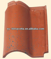ceramic roof tile,portuguese clay roof tile,full body clay roof tiles