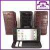 pu leather crocodile mobile phone case for iphone 5 with wallet slots