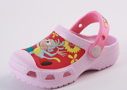 Hot sale cartoon 3D pattern Dora Garden shoes Children slippers shoes Kids beach shoes casual shoes