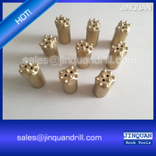 7 11 12 degree taper button bits with high quality carbon,6 7 8 buttons