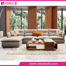 High quality modern fabric high density foam alibaba latest design TV room arab furniture sofa
