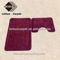 LZ-707 Yiwu Best quality Handmade memory foam anti-slip cheap cotton rugs