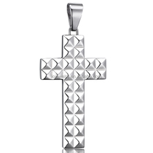 Stainless steel cross pendant charms