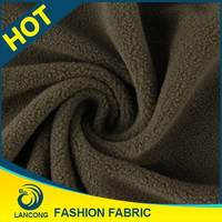2015 New arrival Garment making use Knit stretch fleece