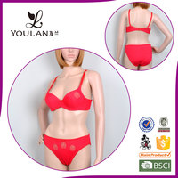 New Arrival Exquisite Super Push Up Ladies Dress Panty Bra Womens Open Bra And Panty