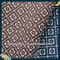 Indian block print cotton sateen fabric for shirting