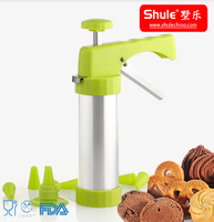 Stainless Steel Popular Hand Operated Biscuit Press and Cookie Maker/QB-4