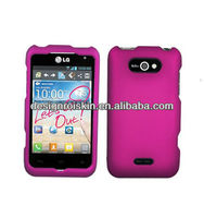 rubberized hard case for LG Motion 4G LG MS770