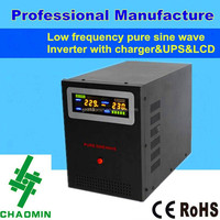 10000 watt Low frequency Pure sine wave power inverter 12v 220v with charger&UPS&LCD display