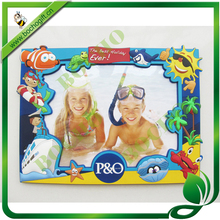 "kid's rubber photo frame 6""x8"""