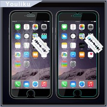 for iphone 6 tempered glass screen protector, factory price 2.5D 0.33mm clear screen protector