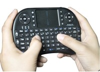 2.4g Remote Control Rc12 Air Mouse + Wireless Touchpad Keyboard For Pc Tv Box