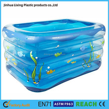 Square Shape Inflatable Swimming Pool