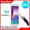 Mobile Phone used screen film for samsung galaxy note4 tempered glass screen protector