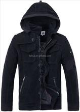 2015 Fashion style men corduroy jacket,men's garment