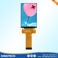 Free viewing angle 3.5 tft lcd 320x480 ips screen