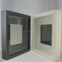 High Quality Wooden Shadow Box Frame Wholesale MDF Picture Frame Photo Frame