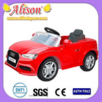 New Alison 2015 C31023 China hot kid child drivable open door toy car, kids toy car engine