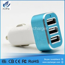 Usb car charger for promotional item in car usb charger for mobile phone