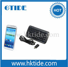Gtide mini bluetooth keyboard and 5000MA power bank for android smart phone