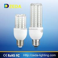 high brightness 8W 11W 4U LED corn lamp 220V E27 BULB