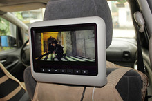 Customize 10.1 inch detachable car headrest monitor with hdmi input FOR universal cars